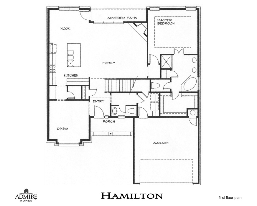 Admire Custom Homes Floor Plans