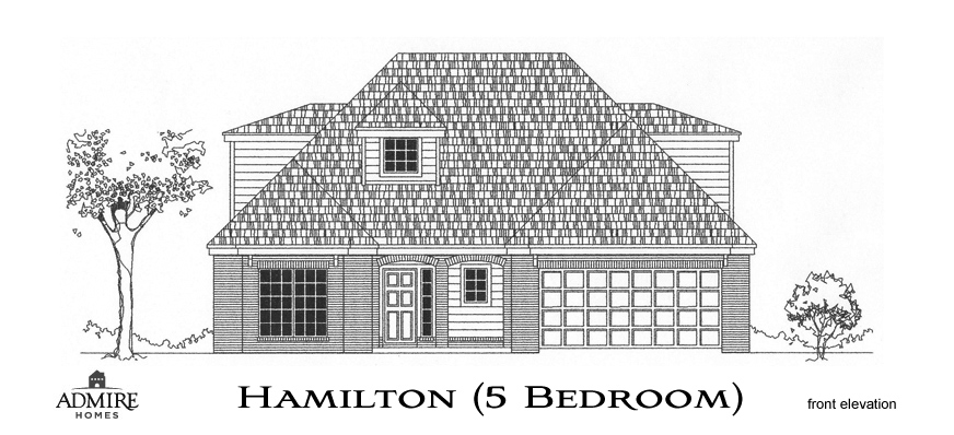 Hamilton With 5 Bedrooms Admire Custom Homes