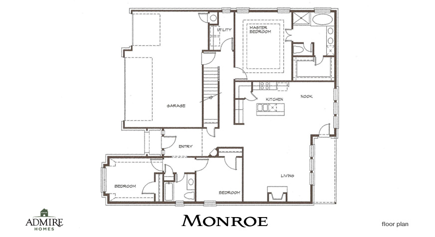 Admire Custom Homes » Floor Plans